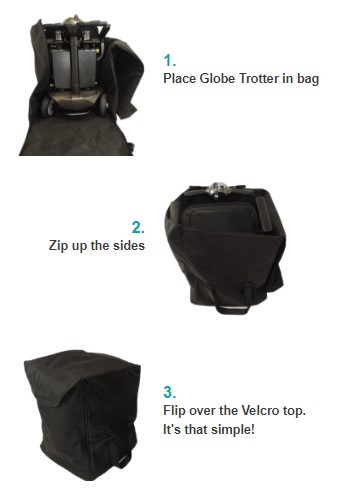 Globe Trotter Carry Bag Instructions