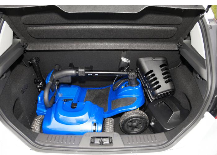 Lithium Vogue in Car Boot