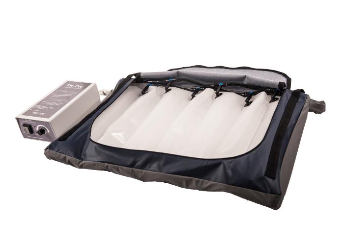 Tri Pos Cushion unzipped