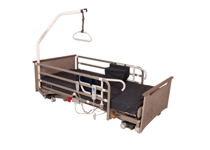 End Exit Care Bed with Hoist