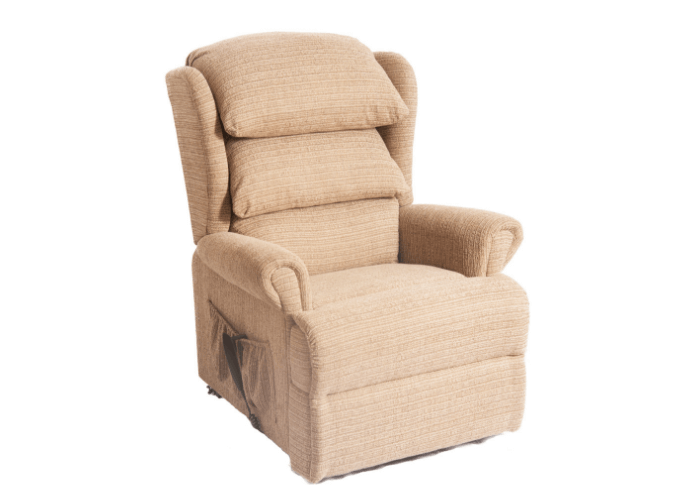 Admiral Chair in Chapel Cream Fabric