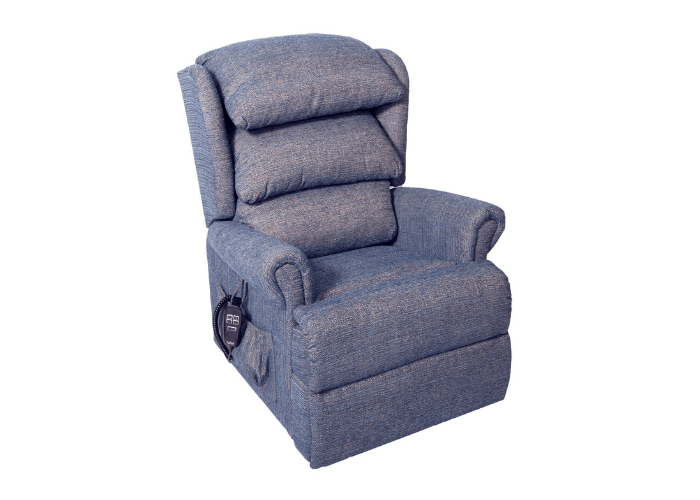 Admiral Chair in Windsor Ble Fabric
