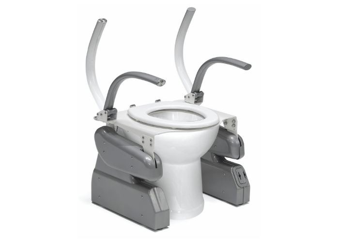 Toilet Riser Pro - Adjustable Arms