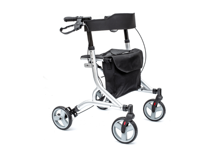 Zoom Rollator in Metallic Silver
